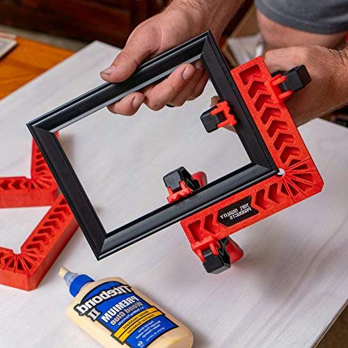 Positioning Clamping 90 Angles for Picture Boxes, by
