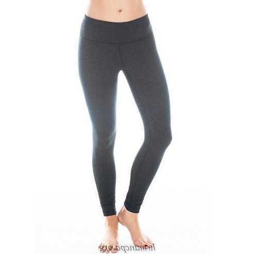 power flex yoga pants heather charcoal s
