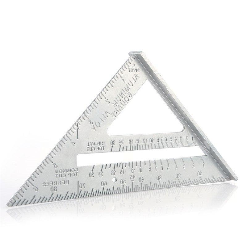alloy triangle 45 square triangle ruler