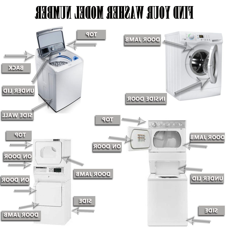 Steel Washing Machine with 5