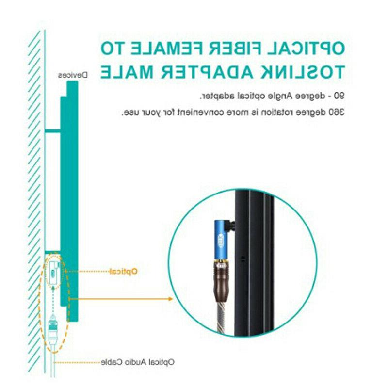 Right Angle Audio SPDIF 90