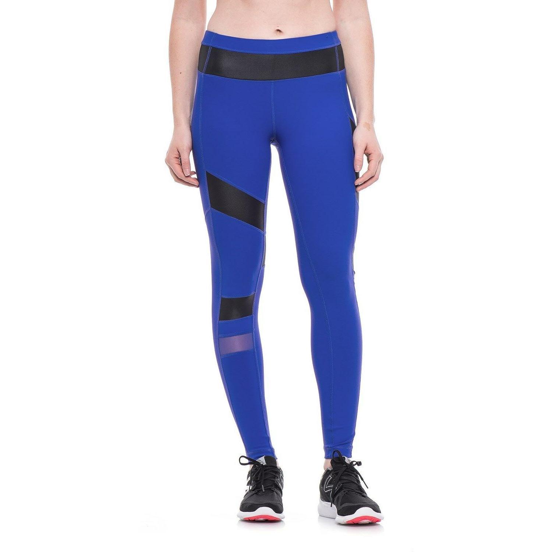 royal blue yoga fitness workout pants w