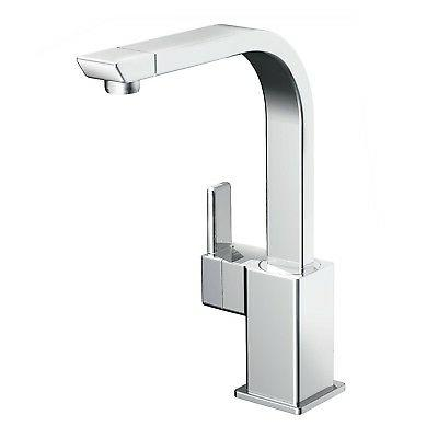 Moen S7170 90-Degree One-Handle High Arc Kitchen Faucet, Chr
