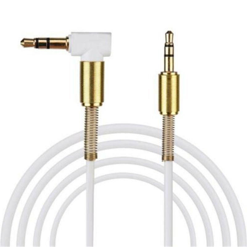 3.5mm 3.3FT Degree Angle Aux Cable Male Male