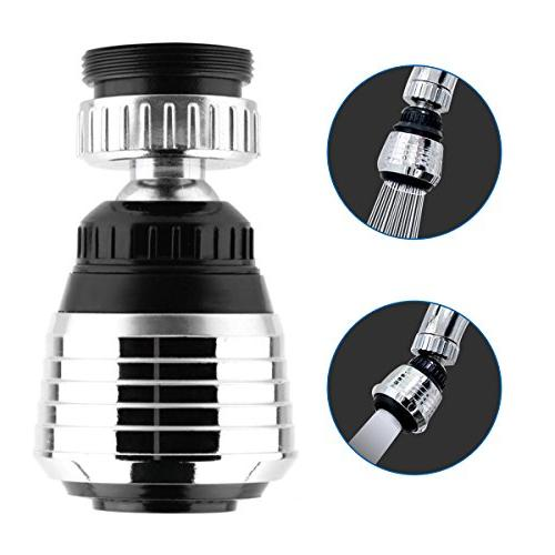Astounding 360 Degree Swivel Kitchen Sink Faucet Aerator With 2 Function Swivel Sprayer For Kitchen Bathroom Faucet Home Interior And Landscaping Ologienasavecom