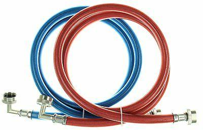 triple layer stainless steel washing machine hoses