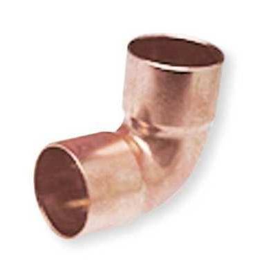 NIBCO U607 3/4 Elbow, 90, Close Rough, Wrot Copper, 3/4 in.