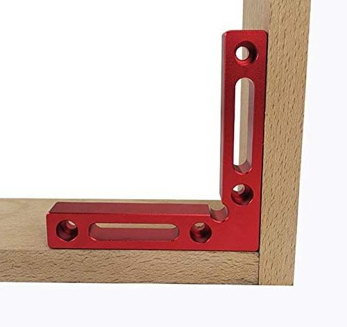 """NEW Positioning 4.7"""" Angle Clamps Woodworking Carpenter Clamping for Picture Frame Drawers 2"""