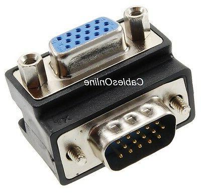 VGA Right-Angle 15-Pin Male to Video GC-021A