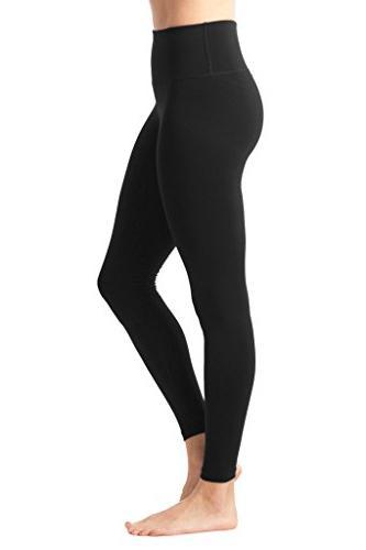 90 By - High Flex Legging Control Black and Magenta