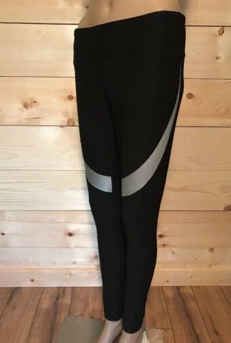 women leggings black medium athletic yoga running