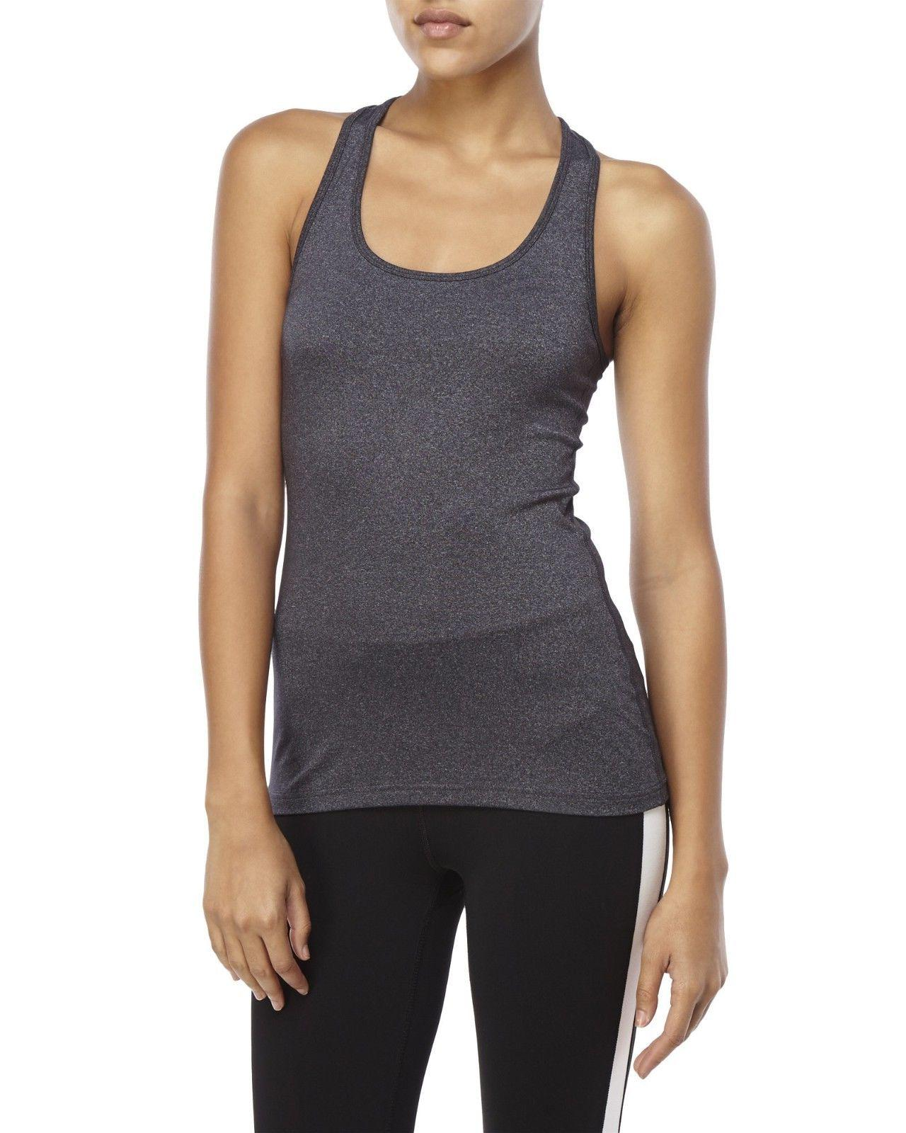 women s dark gray tank top size