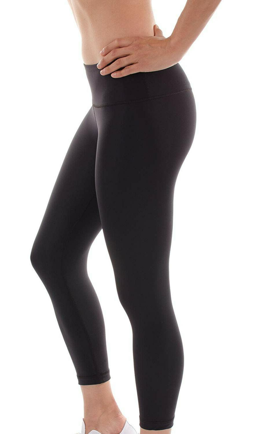 90 Degree by Reflex Women's Mystery Leggings Medium M Black