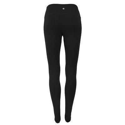 women s power flex yoga leggings black