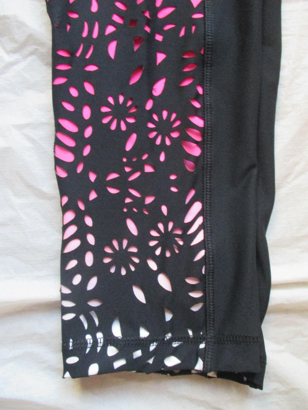 NWT Legging Capri Pants 90 Degree By Reflex Women Yoga Style