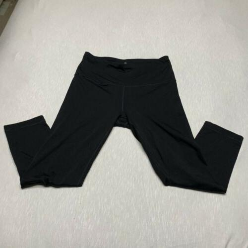 womens activewear leggings black size large l
