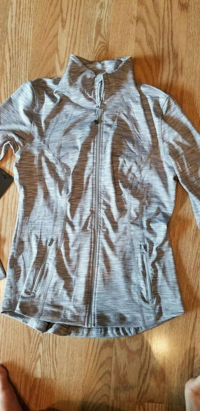 womens lightweight full zip running track jacket