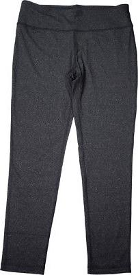 Womens Yoga Pants - Heather Charcoal