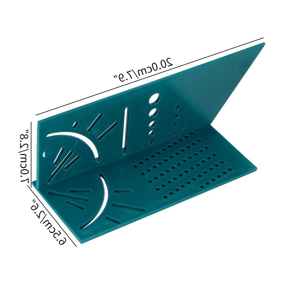 Plastic Square Angle Protractor Over The