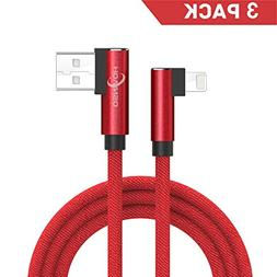 Lightning Cable, Hovinso 90 Degree Right Angle Data Cable Ny