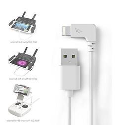 DJI Mavic Air Mavic Pro Lightning Cable to USB RCGEEK iPhone