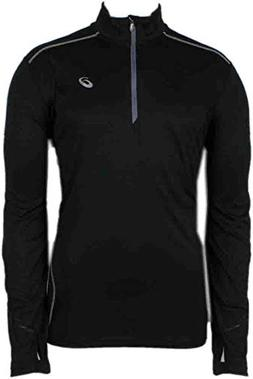 Asics Men's Lite-Show High Visibility Favorite 1/2 Zip Top,