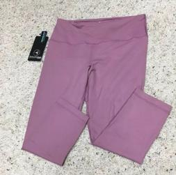 MSRP $78 NWT 90 Degree by Reflex Rose Yoga Capri Paints Size