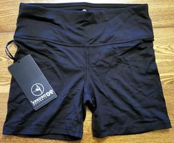 New 90 Degree by Reflex Power Flex Yoga Shorts SHW3026 Black