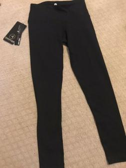 NEW NWT 90 DEGREE BY REFLEX black Ankle Length Workout Exerc