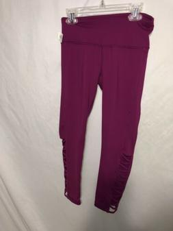90 Degree by Reflex NEW Plum Women's Size XS Capri Activewea