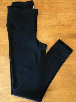 NWOT  90 DEGREE by REFLEX Black Yoga Pants Full Length size