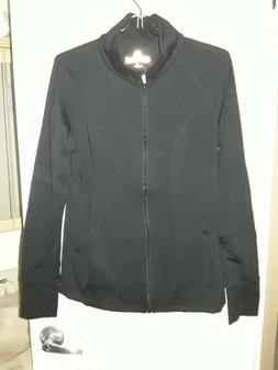 NWOT 90 Degree By Reflex Women's Large Full Zip Running Tr