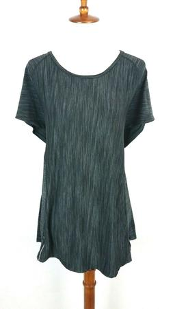 NWT $64 Womens athletic 90 Degree by Reflex top 3X short sle