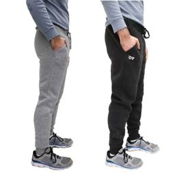 NWT$78 MEN'S 90 DEGREE BY REFLEX FLEECE JOGGERS PANTS BLACK