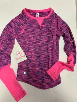 NWT Girls 90 Degree By Reflex Top Size S  Pink/Purple