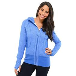 NWT Active Life 90 Degree By Reflex Hoodie/jacket-Sz S,blue,