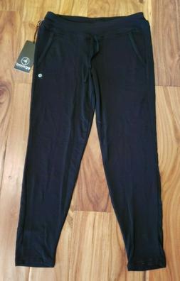 NWT Women's 90 DEGREES Black Jogger Pants Size Medium M