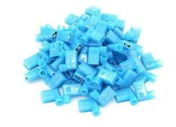 100pcs 90 Degree Nylon Insulated Female Push On Wire Termina