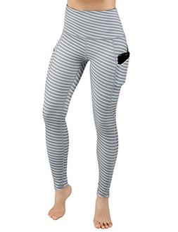 ODODODOS High Waist Out Pocket Printed Yoga Pants Tummy Cont