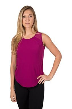 90 Degree By Reflex Open Back Mesh Powerflex Tank - Magenta