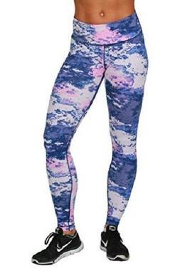 90 DEGREE BY REFLEX Peachskin Brushed Printed Leggings Pants