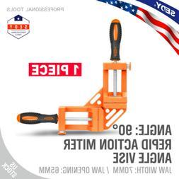 Quick-Jaw Right Angle 90 Degree Corner Clamp Carpenter Weldi