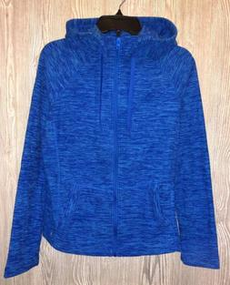 90 DEGREE REFLEX Prove Them Wrong Blue Space Mic Fleece Hood