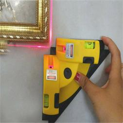 Vertical Horizontal nivel Laser Level Line Projection Right
