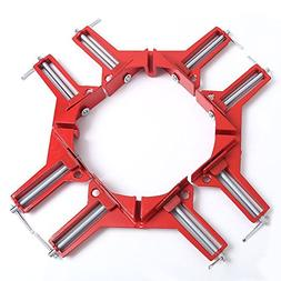 chengsale 4Pcs 90 Degrees Right Angle Clamp 100mm Corner Cla