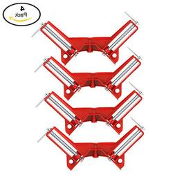 "Yaetek 4PCS 90 Degree Right Angle Miter Corner Clamp 3"" Capa"