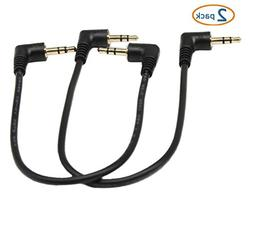 3.5mm Stereo Audio Cable,SinLoon Gold Plated 90 Degree Right