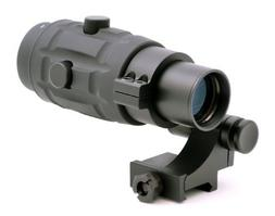 TMS Tactical 3x Magnifier Scope with Quick Flip to Side FTS