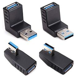USB 3.0 Adapter Couplers 90 Degree Male to Female,USB Connec