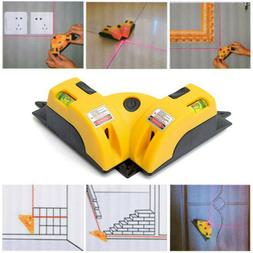 Vertical Horizontal Laser Line Projection Square Level Right
